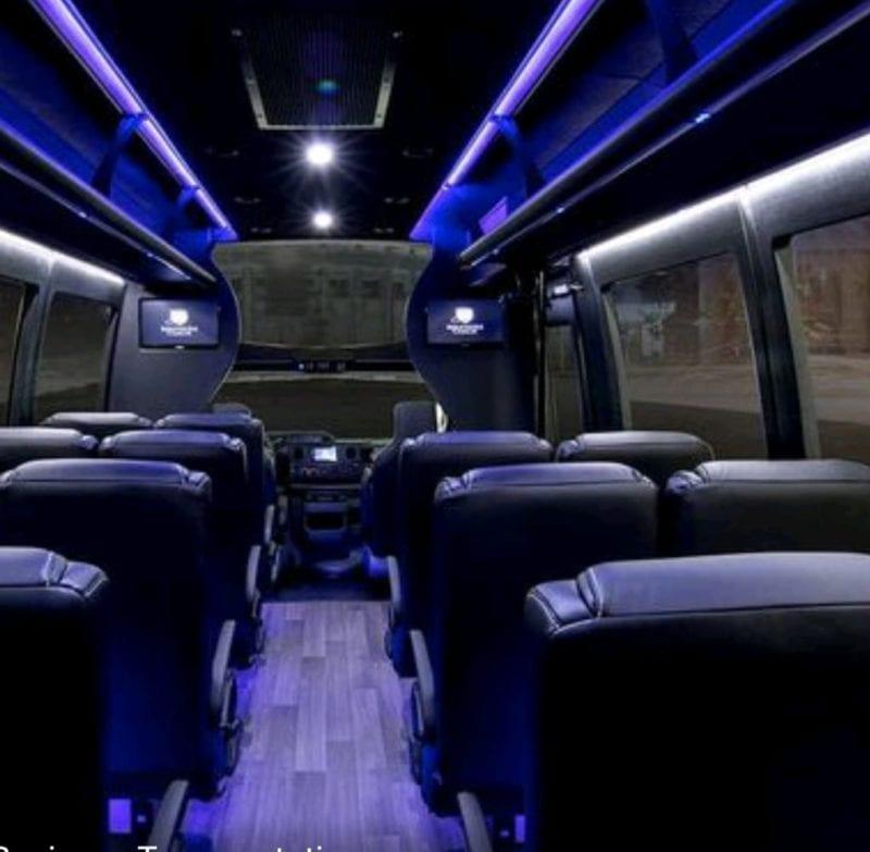 Austin Minibus 23 Passenger Rental Services