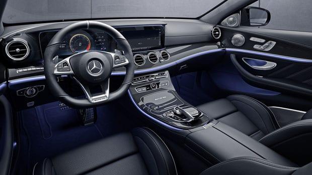 austin mercedes e-class chauffeur service