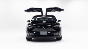 Black model X